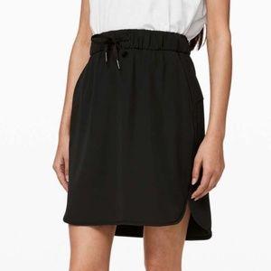 Lululemon On the Fly Skirt Black Size 2 NWT